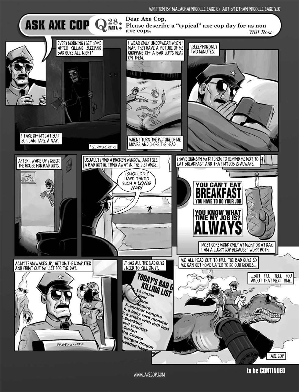 Ask Axe Cop #28