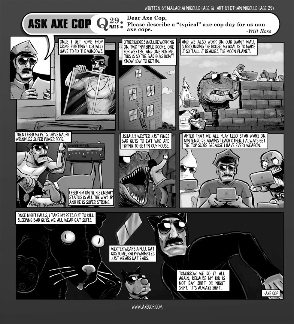 Ask Axe Cop #29