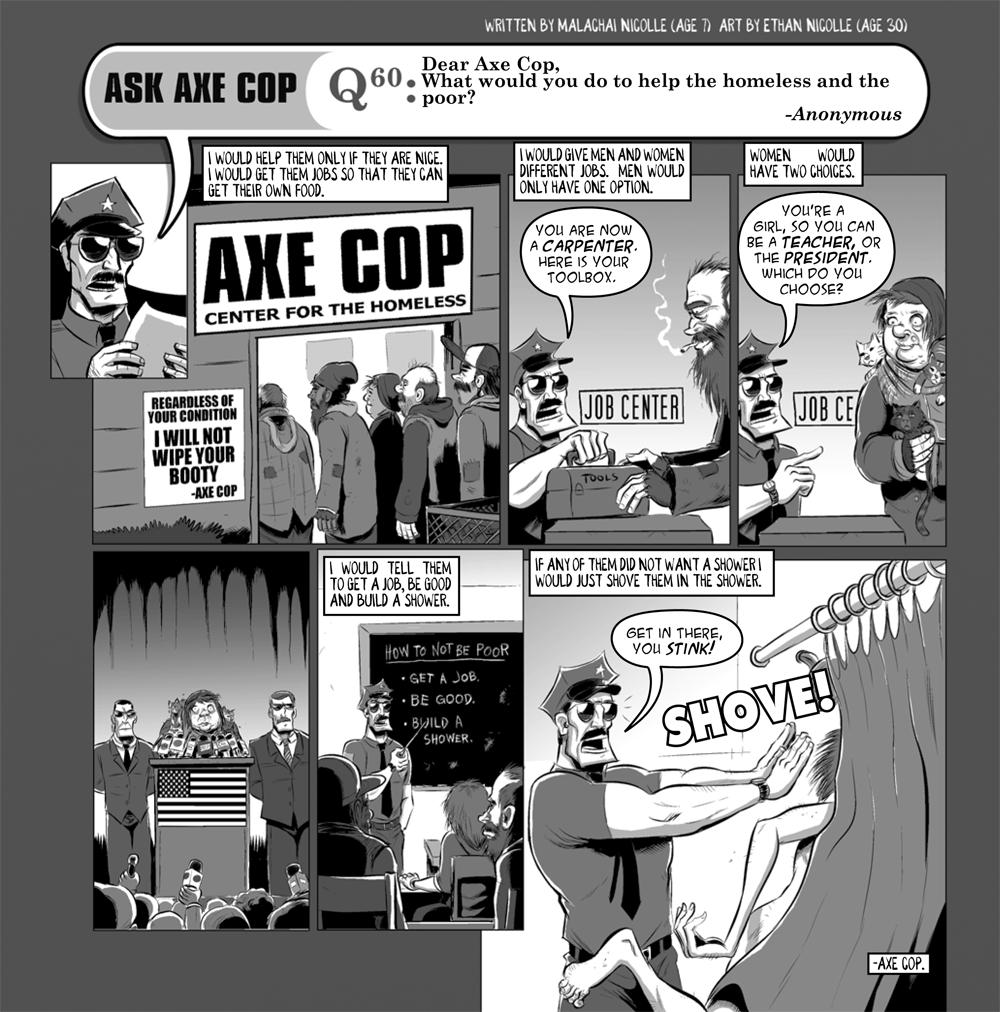 Ask Axe Cop #60