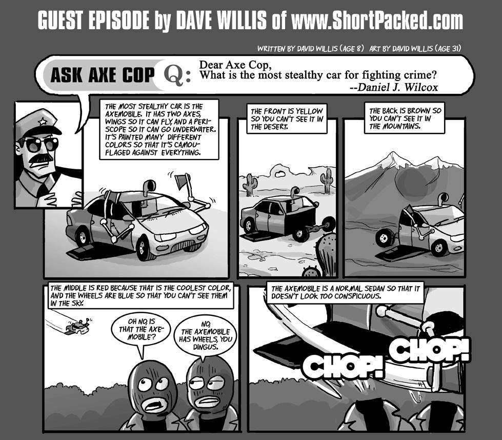 Axe Cop Guest Episode #1
