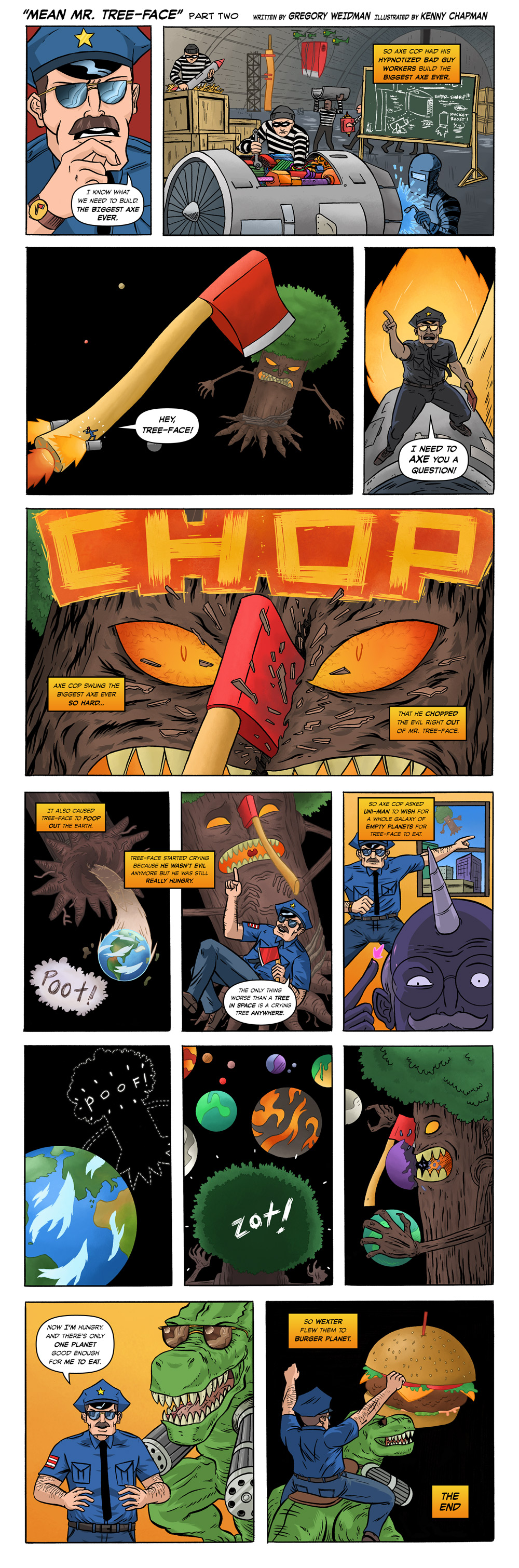 Axe Cop Guest Episode #34