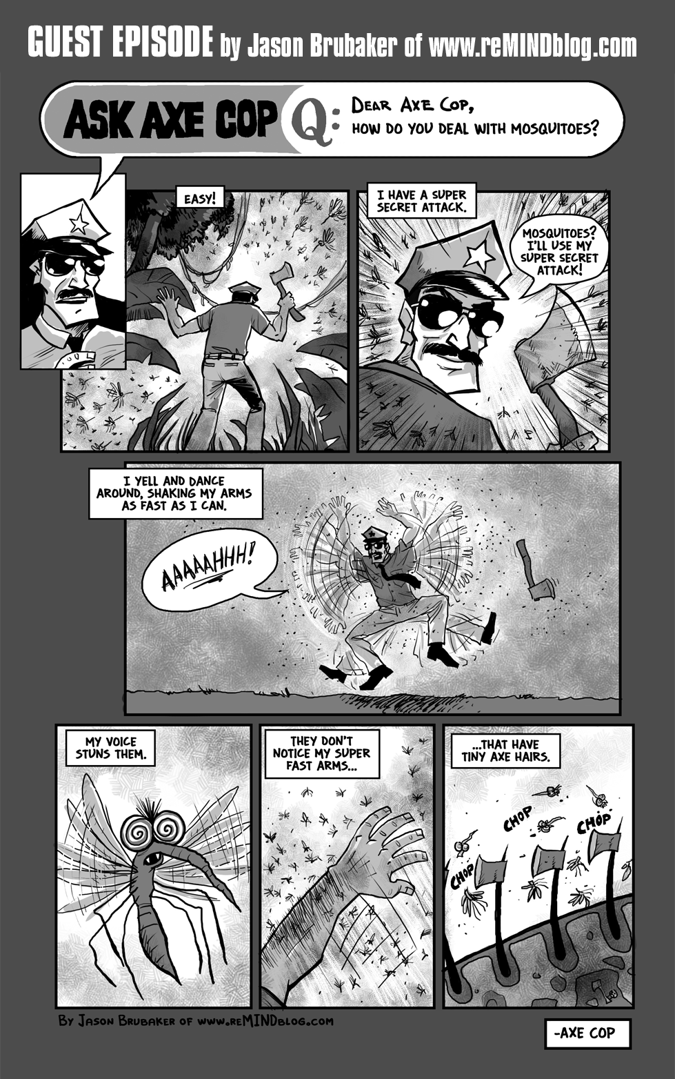 Axe Cop Guest Episode #4