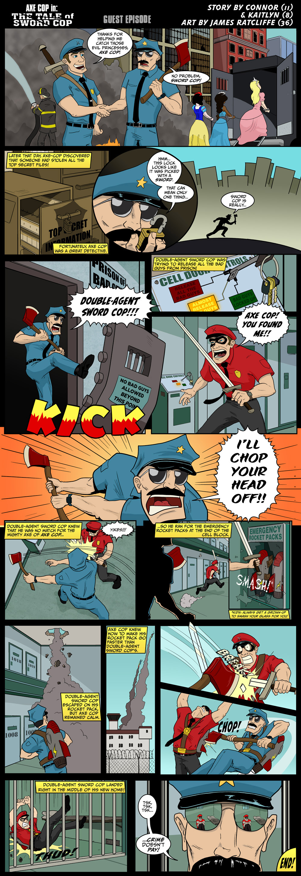 Axe Cop Guest Episode #41