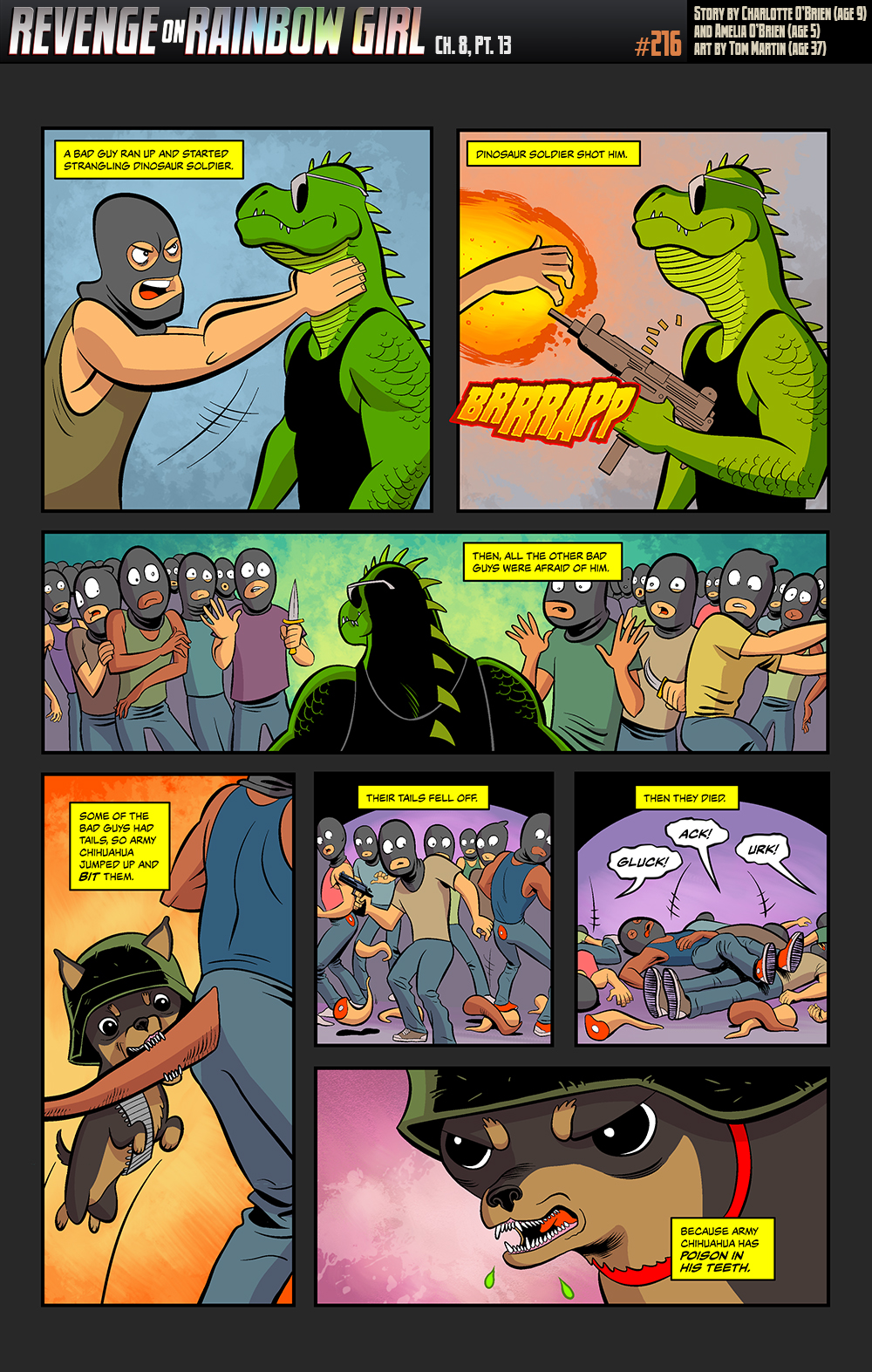 Page 216 – Some bad guys have tails