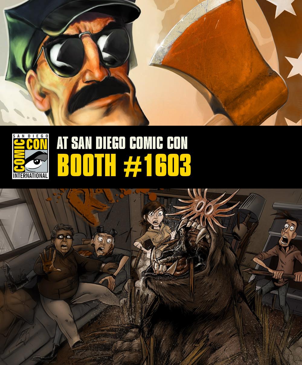 Comic Con 2014!