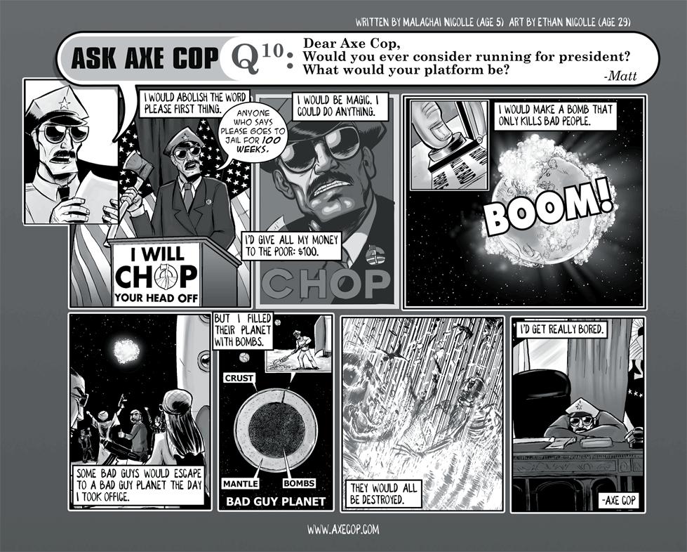Ask Axe Cop #10