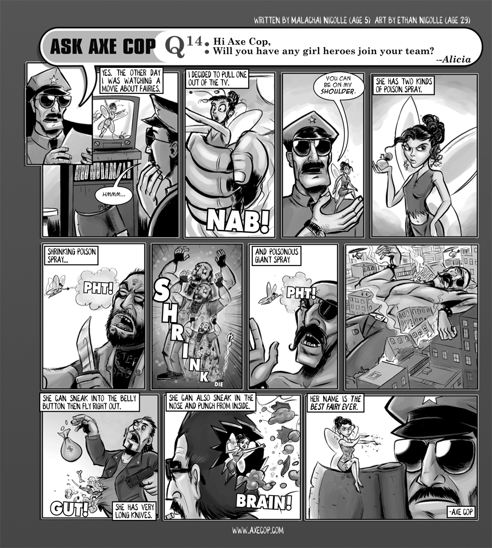 Ask Axe Cop #14