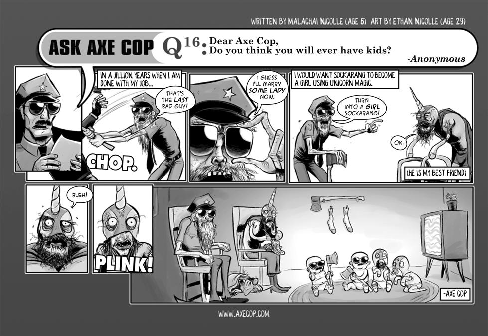 Ask Axe Cop #16