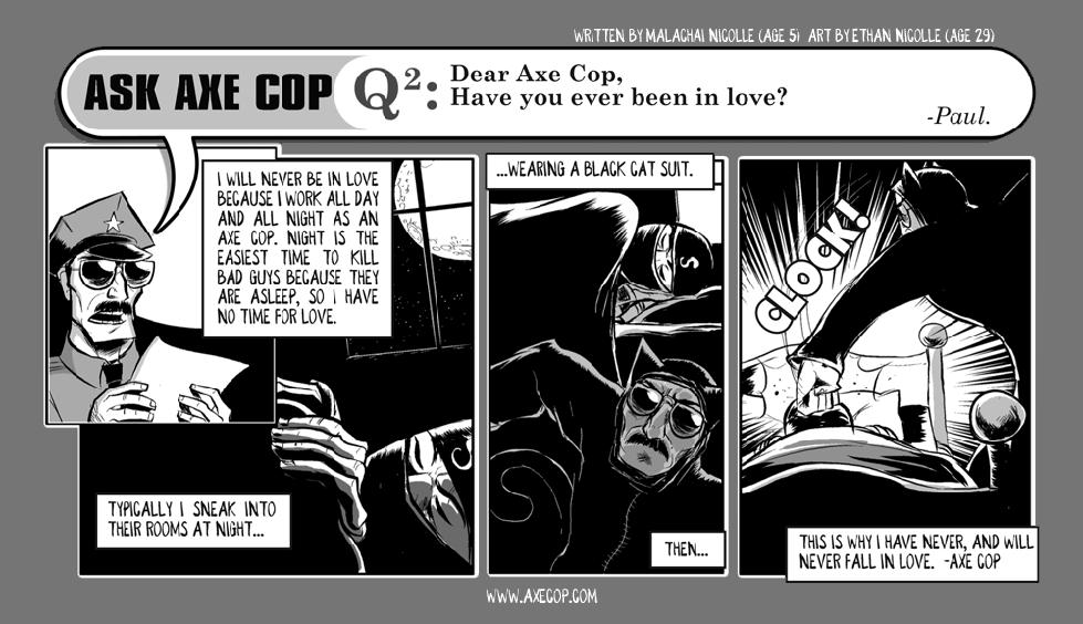 Ask Axe Cop #2
