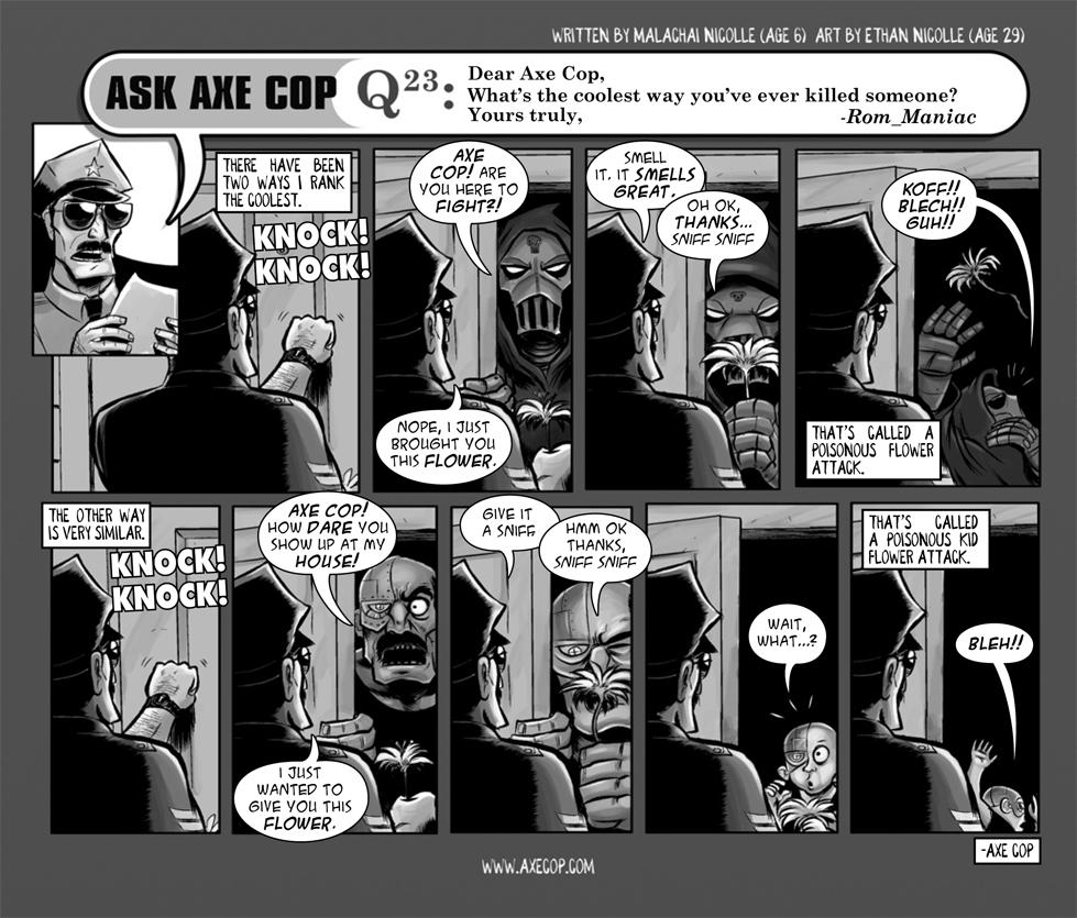 Ask Axe Cop #23