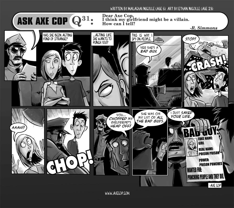 Ask Axe Cop #31