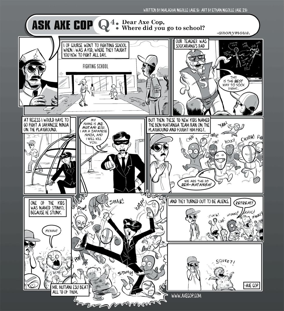 Ask Axe Cop #4