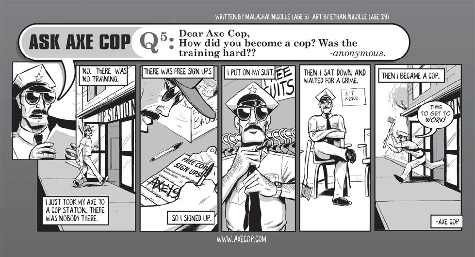 Ask Axe Cop #5