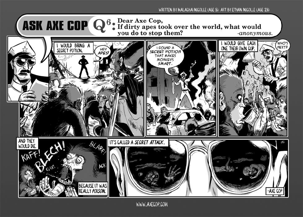 Ask Axe Cop #6