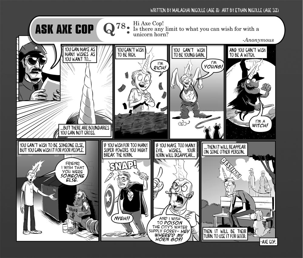 Ask Axe Cop #78