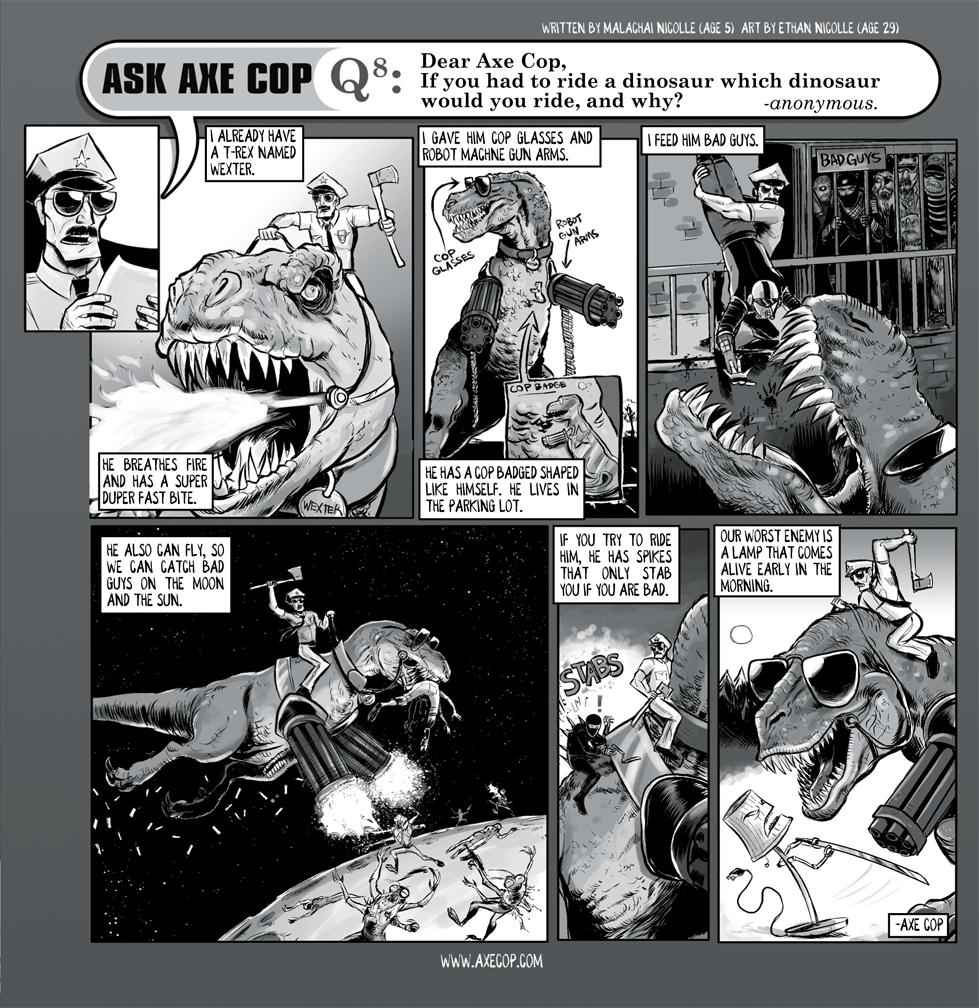 Ask Axe Cop #8