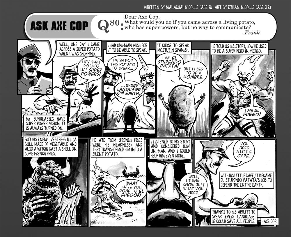 Ask Axe Cop #80