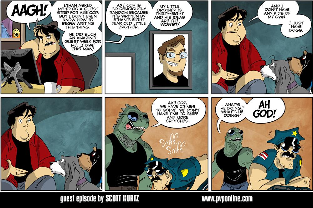 Axe Cop Guest Episode #35