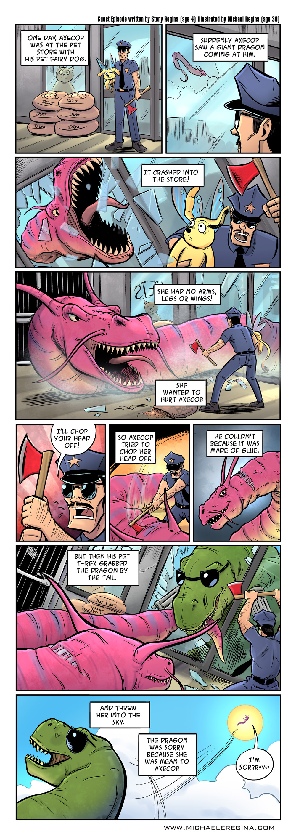 Axe Cop Guest Episode #39