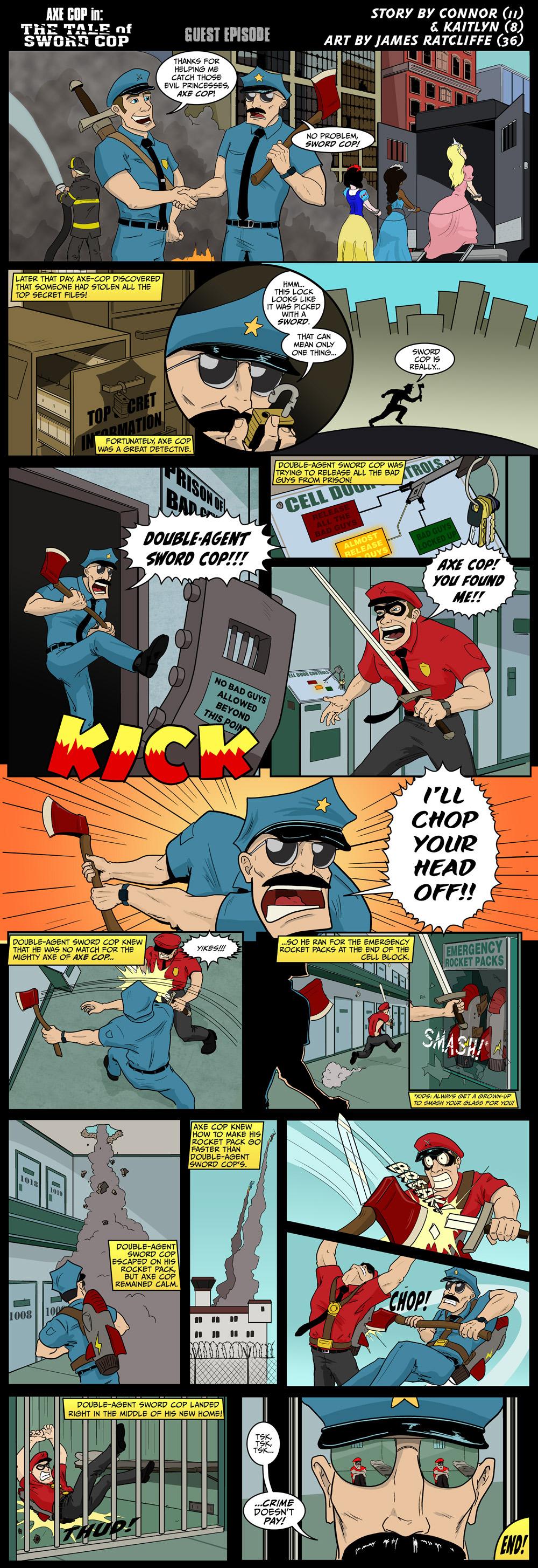 Axe Cop Guest Episode #41