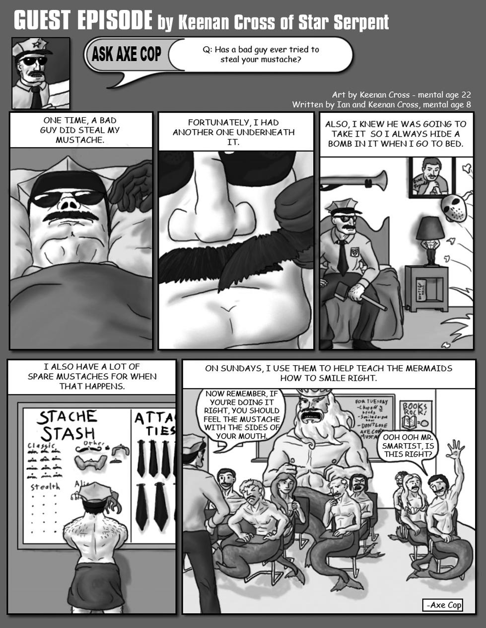 Axe Cop Guest Episode #5