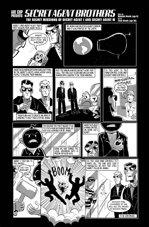 Axe Cop PRESENTS #2