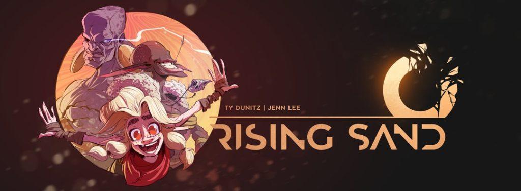 risingsandbanner