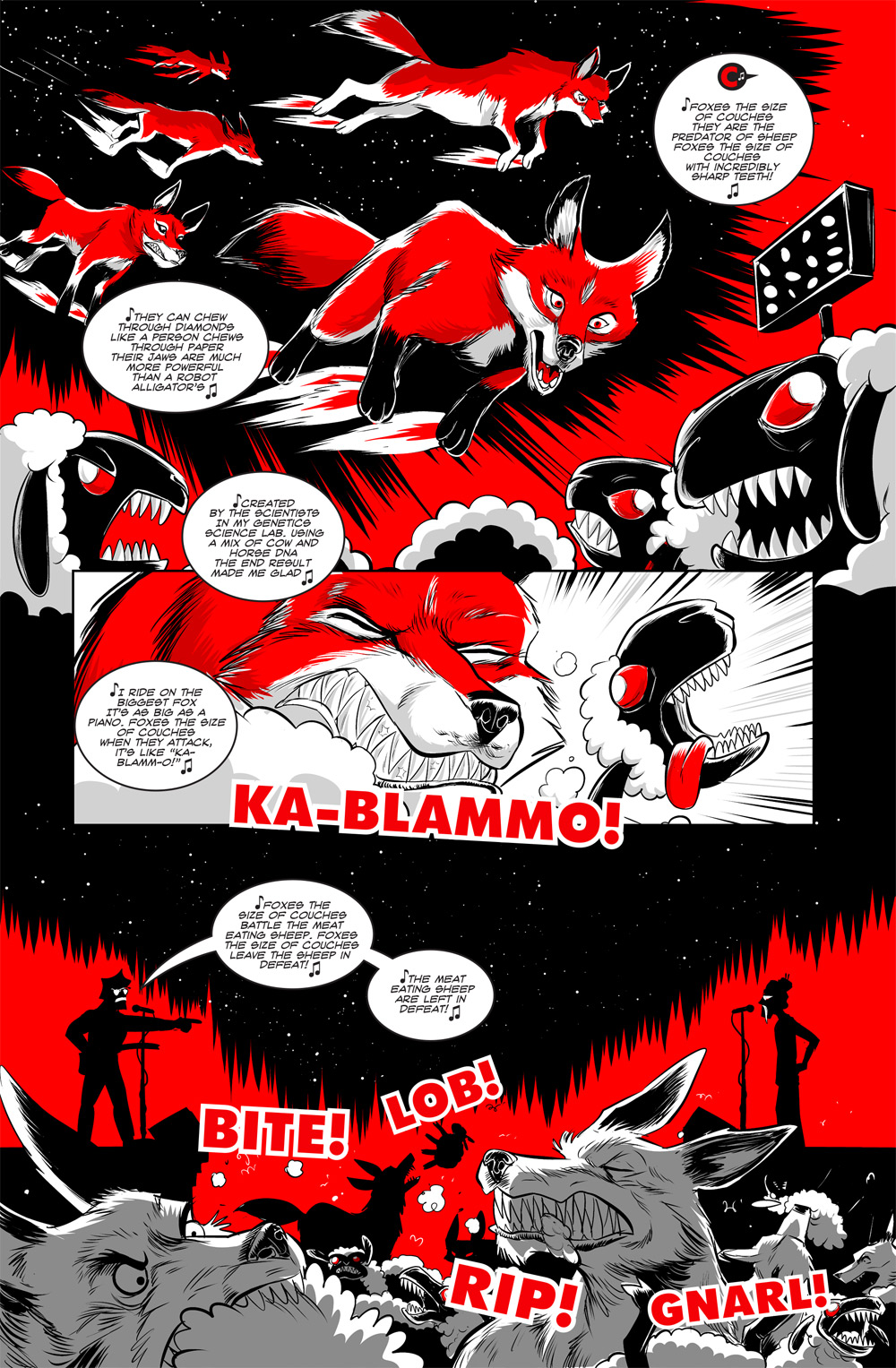 I want an audiobook of Dave reading bedtime stories in the Axe Cop voice.